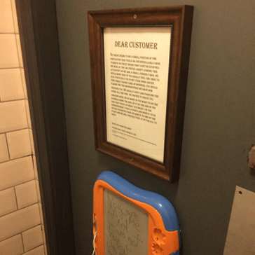 One Irish Bar's Solution to Bathroom Graffiti is Equal Parts Clever and Fun