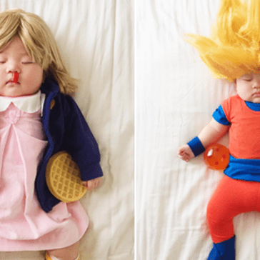 Mom Busts Out Some Creative Cosplay Every Time Her Daughter Goes to Sleep
