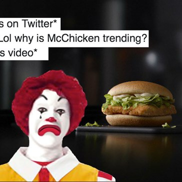 The NSFW Reason #McChicken Was Trending Shook Twitter and Probably Made Ronald McDonald Cry