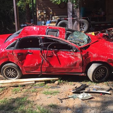 Georgia Dad Destroys Daughter's Car After Catching Her Joyriding With a Boy