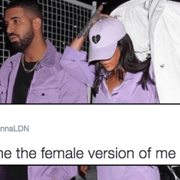 Rihanna Really Is the Female Version of Drake and These Photos Are Proof