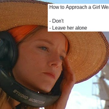 "The Internet Responds to a Blog Post About How to Talk to Women Wearing Headphones With Many More Hilarious Pickup ""Tips"""
