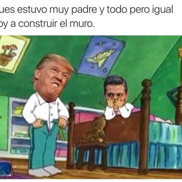 Trump visita a Peña Nieto: internet responde