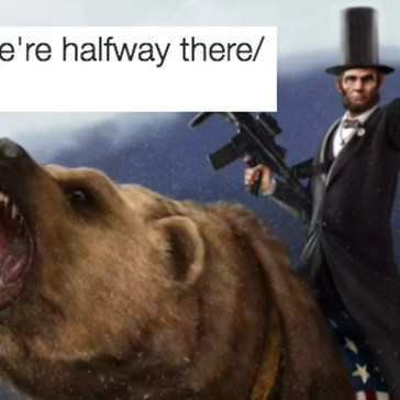 "The ""Whoa We're Halfway There"" Meme Will Answer All Your Pun Related Prayers"