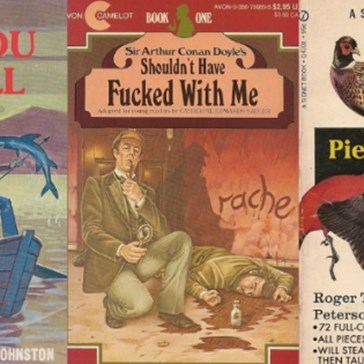 These Fake Paperback Book Covers Put a Weird Spin on Nostalgia