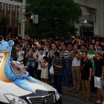 Pokémon GO Players In Tokyo Are In A Full-Fledged Lapras Panic