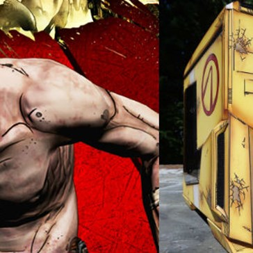 Guy Builds Such An Accurate Borderlands-Themed PC, It Doesn't Even Look Real