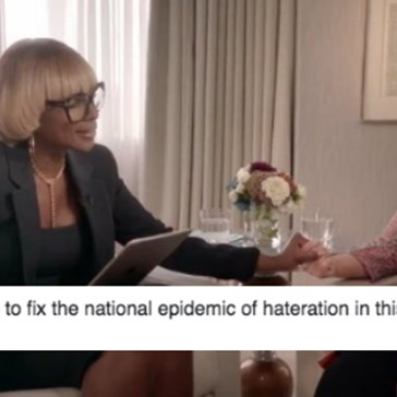 People Can't Stop Making Fun of This Cringey Interview Promo Between Mary J. Blige and Hillary Clinton