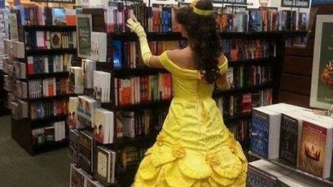 cosplay Beauty and the Beast belle - 8100014592