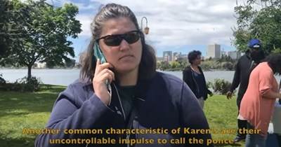 Funny video parodying David Attenborough narrating 'Planet Earth' using the 'Karen' stereotype