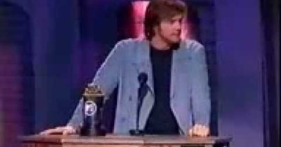 Jim Carrey funny award acceptance speech
