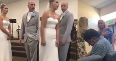 karen objects to her son getting married during the wedding ceremony cringeworthy fail