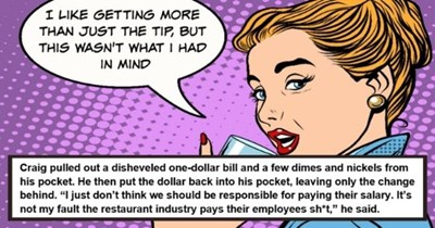 "dating fail story about guy who only gave the tip | thumbnail pop art image of woman ""I like getting more than just the tip, but this wasn't what I had in mind"" 