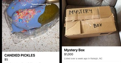 strange and horrible for sale listings online