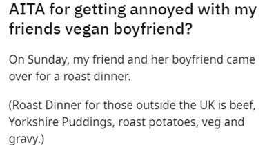 rage frustrating wtf cooking annoying friends angry story entitled vegan food - 15485445