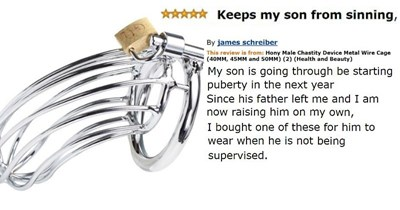 Collection of Amazon reviews that gave way to ridiculous amounts of strange creativity.