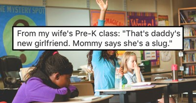 28 Times kids shared horribly embarrassing secrets about their parents.