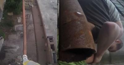 parkour FAIL GoPro stunt Video - 401926