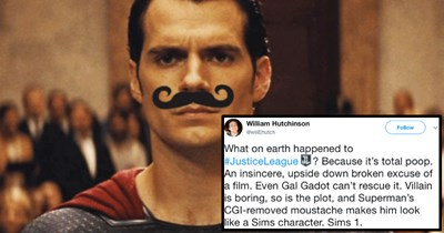 People on Twitter are roasting Superman over the CG mustache removal, and the results are hilarious.