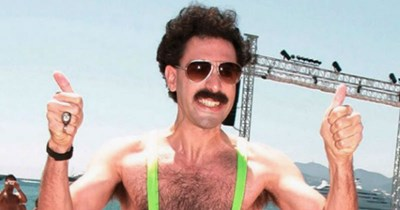 Sacha Baron Cohen has hilarious offer for the men arrested for wearing crude mankinis.