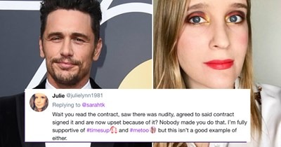 twitter me too misconduct James Franco - 4556037