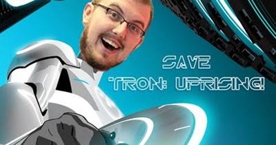 petition cartoons Tron Uprising tron - 46841089