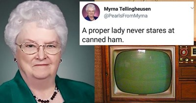 Collection of funny tweets from an old lady Twitter trolling account.
