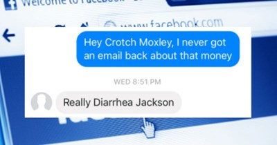 diarrhea scammer trolling scam nickname - 4877829