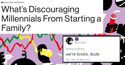 twitter starting a family relatable millennials poor people problems cost of living generation y poor people generations baby boomers having kids tweets about millennials too expensive - 5753093