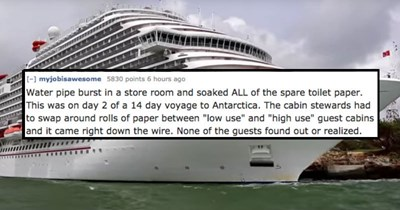 sea crew cruise ship secret job disaster captain cruise boat drowning - 6025733