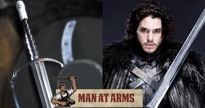 Jon Snow Game of Thrones Video man at arms man at arms man at arms man at arms - 60677633