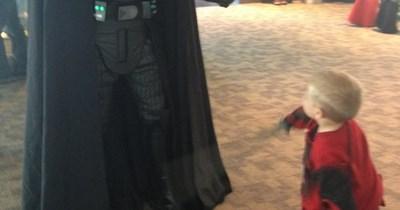 cosplay kids deadpool darth vader - 6738978304