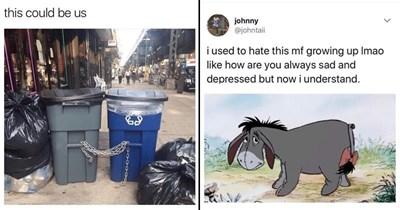 twitter life depressing trash random memes therapy dating memes silly memes funny memes Memes depression social media funny tweets random tweets eeyore dating relationship memes - 7200005