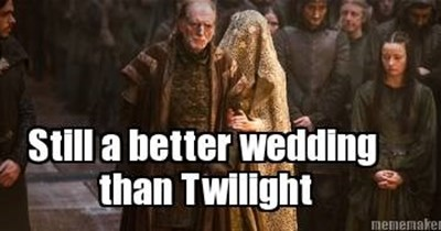 red wedding Game of Thrones twilight - 7534179328