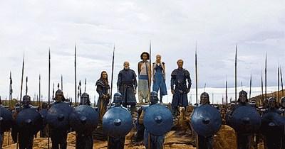 gifs Game of Thrones Daenerys Targaryen - 7555563776