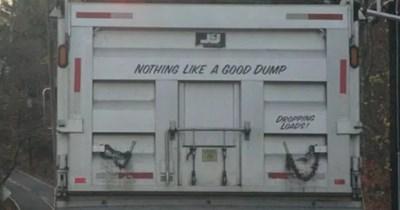 humor bumper sticker ridiculous funny trucks - 7574533
