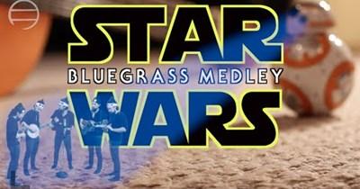 bluegrass Music scifi star wars Video - 76419073
