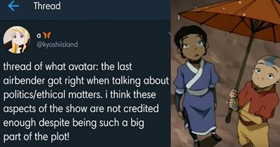 twitter news awesome Avatar the Last Airbender ethics animated win politics - 7755013