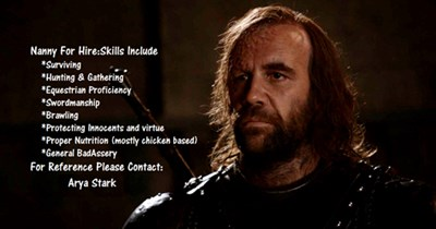 the hound Game of Thrones season 4 - 8138141184