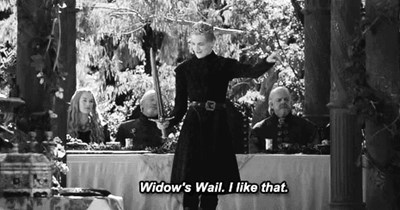 gifs Game of Thrones purple wedding season 4 - 8148927232