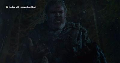 Game of Thrones season 4 hodor - 8176146688
