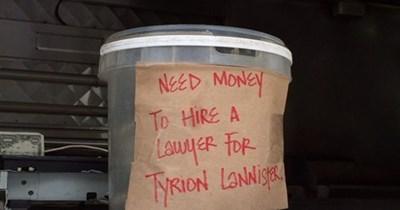 monday thru friday Game of Thrones tip jar tyrion lannister - 8202618112