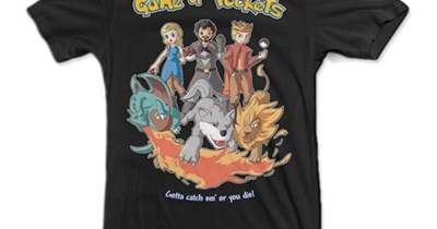 Pokémon Game of Thrones for sale t shirts - 8204632576