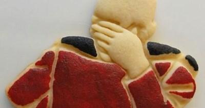 baking Captain Picard facepalm nerdgasm cookies - 8286825472