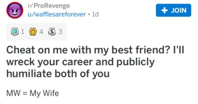 marriage revenge wife cheating divorce breakup - 8444165