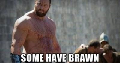Game of thrones memes season 5 brains and Ser Bronn