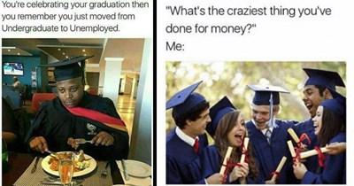 depressing graduation university finals graduate funny memes achievements unemployment college exams cynical - 8585221
