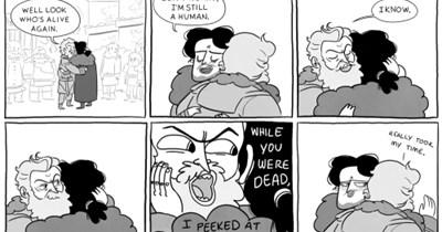 game of thrones jon snow dick comic
