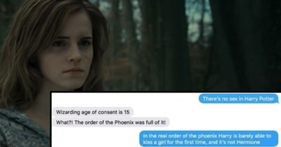 surprising Harry Potter jk rowling Awkward friends fan fiction ridiculous texting funny - 8851717