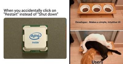 random memes silly memes technology funny memes tech memes coding computer Tech developers funny - 9091333